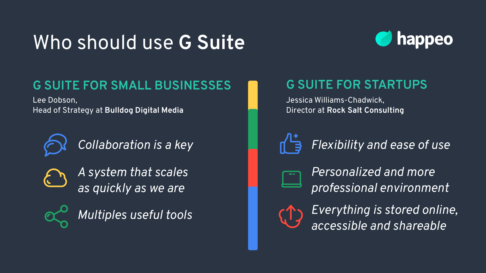 G Suite for small businesses and startups