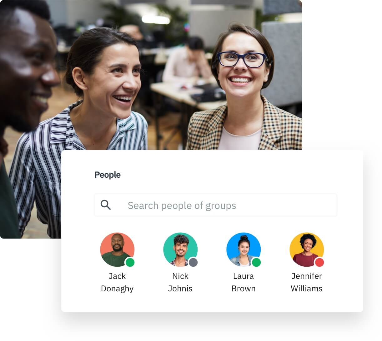 Employee directory for more productivity