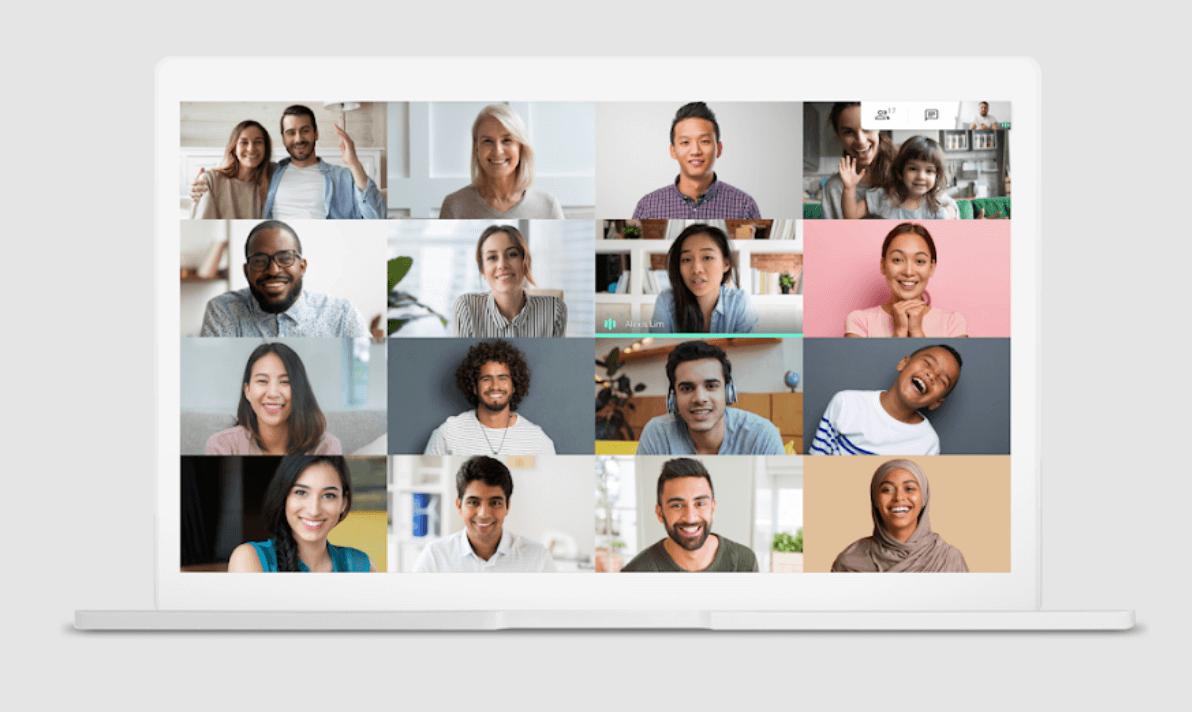 Google meet - video call