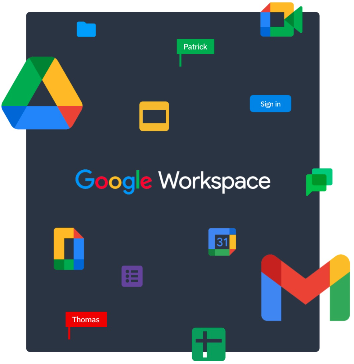 Happeo and Google Workspace collaboration