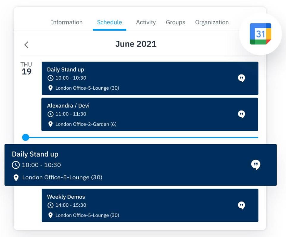 Best remote collaboration tools: Google Calendar