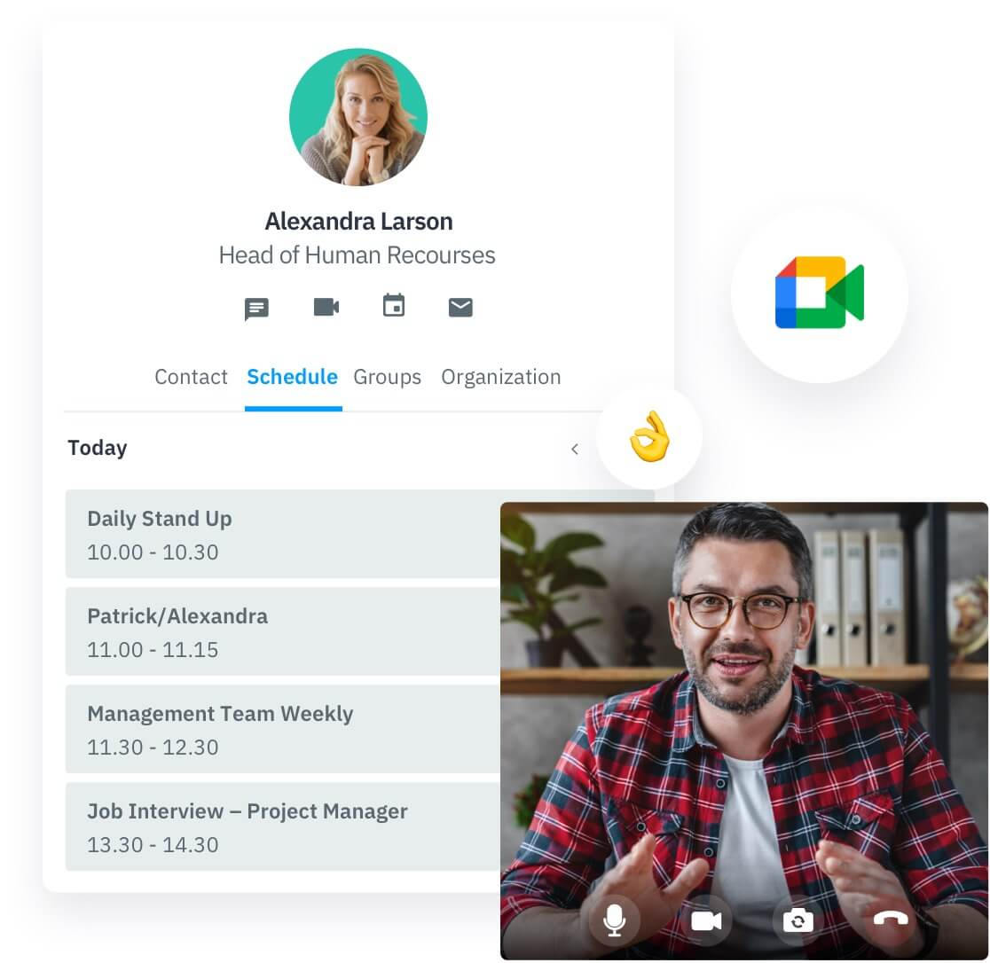employee directory for collaboration