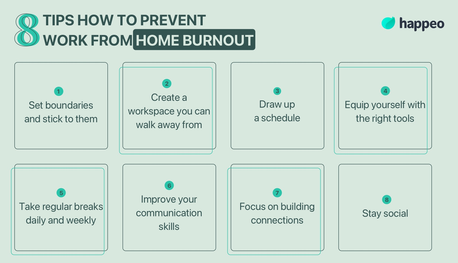 prevent work from home burnout