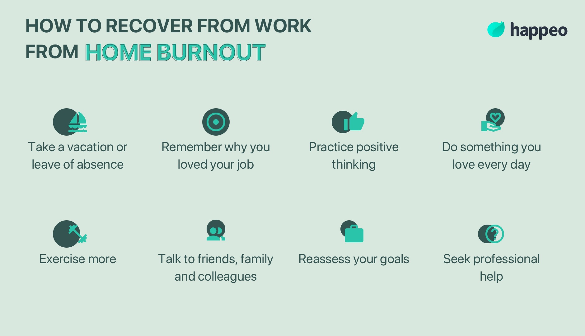 recover from work from home burnout