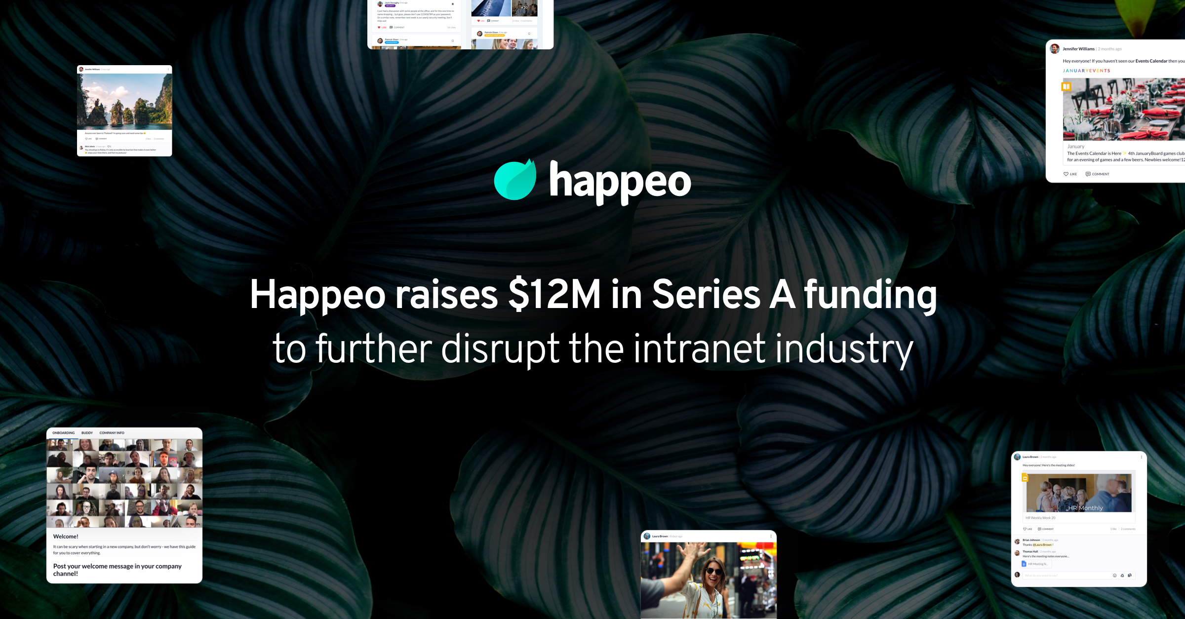 Happeo raises $12M in Series A funding to further disrupt the intranet industry