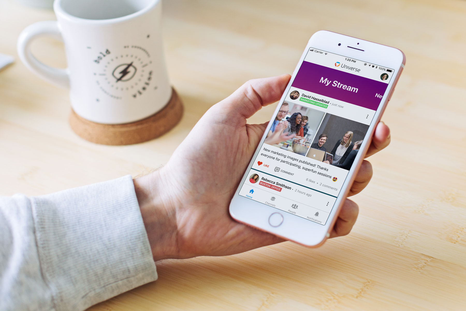 Rethinking internal communications - Happeo mobile application is here