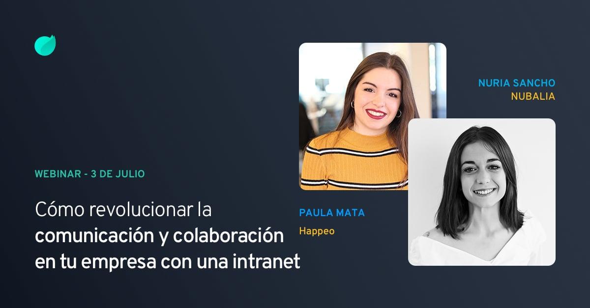 """Webinar """"Cómo revolucionar la comunicación y colaboración en tu empresa con una intranet"""""""