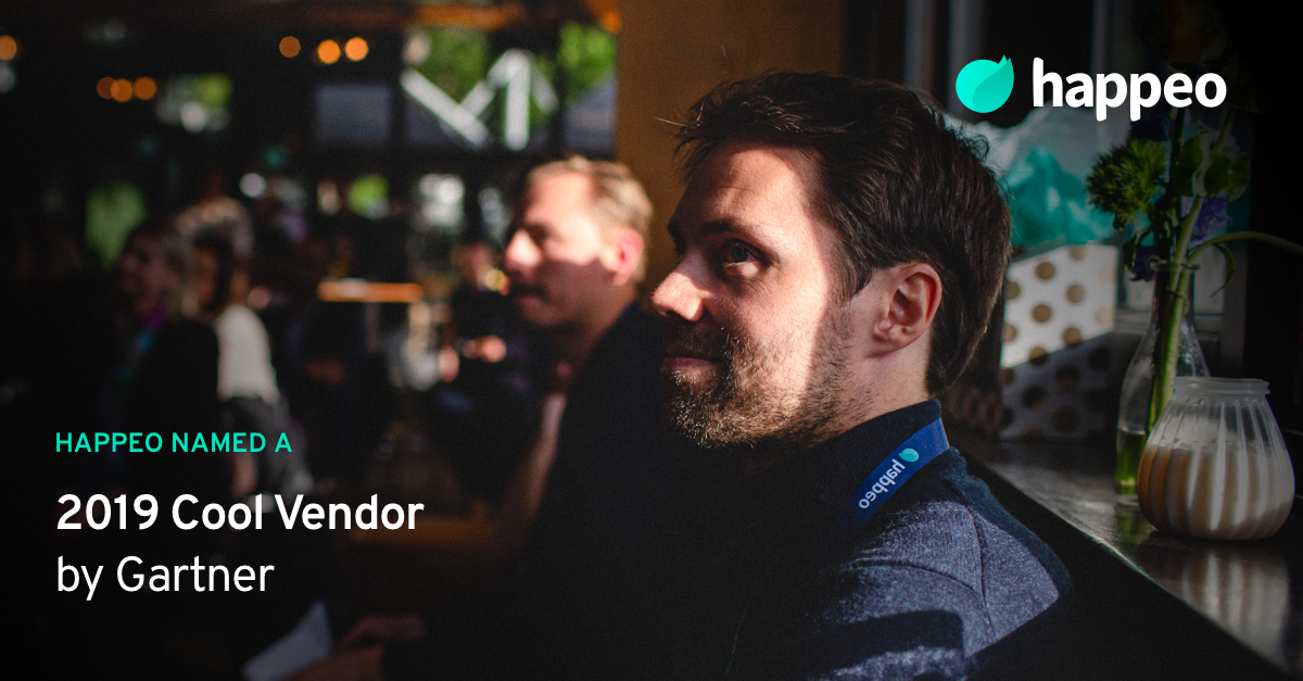 Press release: Happeo named a 2019 Cool Vendor by Gartner
