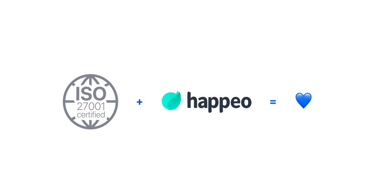 Happeo further expands enterprise offering by announcing ISO 27001 certification