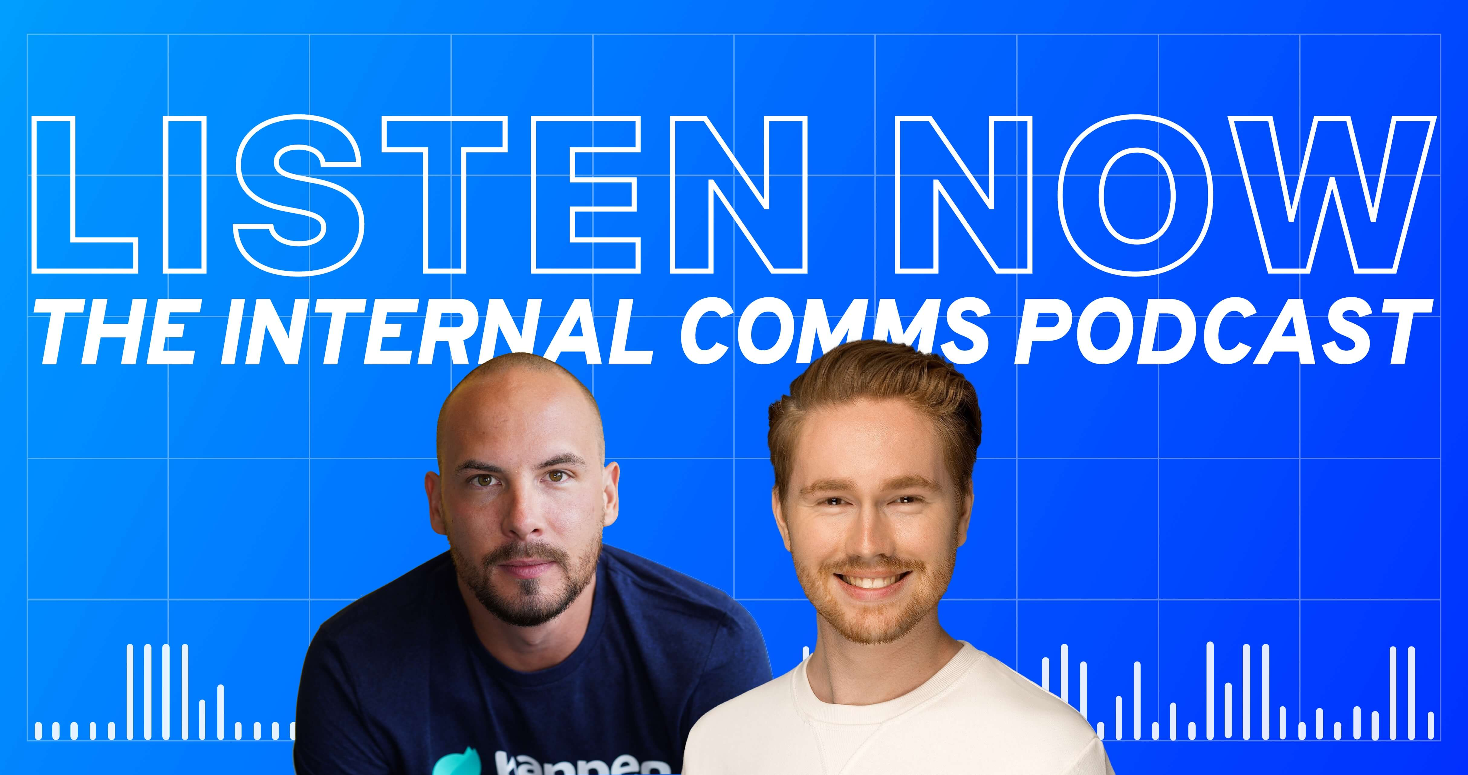 Podcast: Using influencers to bridge Internal and External Comms