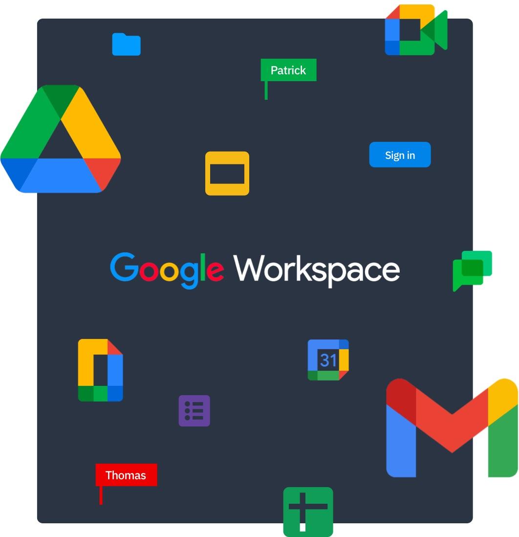 Happeo Google productivity apps