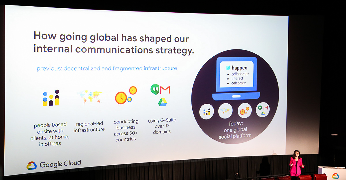 Google Cloud Next 2019: Is Internal Communications ready for AI?